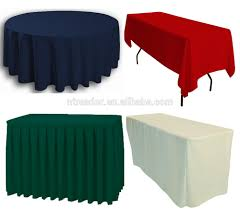 Plastic Fitted Tablecloths 100 Polyester Tablecloths Fitted Tablecloths Table Skirts Buy