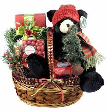 christmas gift baskets a country christmas gift basket with adorable plush