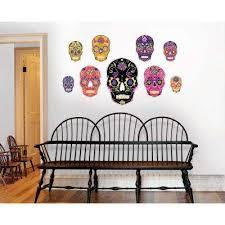 skull indoor halloween decor halloween decorations the home