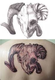 34 best simple aries tattoo images on pinterest ram tattoo