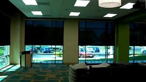 somfy motorized solar shades by 3 blind mice window coverings