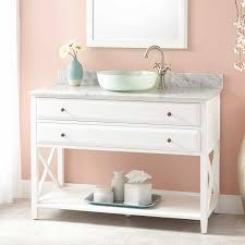 Bathroom Vanity With Shelf by 48