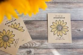 sunflower seed packets my personalised seed packet favour wedding in a teacup