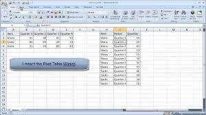 youtube pivot tables 2016 create a reverse pivot table youtube