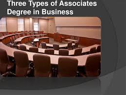 Associates Degree In Interior Design Three Types Of Associates Degree In Business