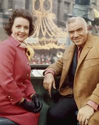 thanksgiving day celebrations hosts betty white and lorne greene during 1965 macy u0027s thanksgiving
