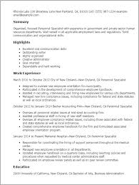 Sample Resume For Google by Communication Specialist Resume