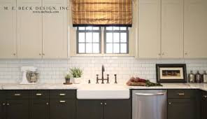 black bottom and white top kitchen cabinets two tone kitchen cabinets to inspire your next redesign
