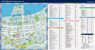 wan chai mtr station map thehkshopper com