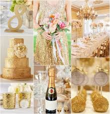 gold wedding theme glamorous golden wedding theme ideas womenitems