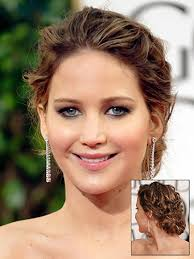 hairstyles golden globes the best hairstyles at the golden globes jennifer lawrence