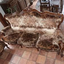 canapé baroque occasion canapé baroque à ayette antiquité brocantes meubles anciens