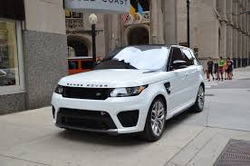 range rover white 2017 2017 land rover range rover sport svr stock l416a for sale near