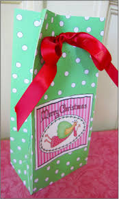 christmas goody bags party favors goodie bags let it snow christmas gift let