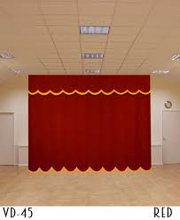 Church Curtains Austrian Curtains For Church With Golden Lace