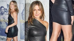 jennife aniston nude jennifer aniston smoking hot in a leather dress at the premiere