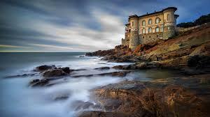 boccale castle livorno tuscany italy wallpaper wallpaper