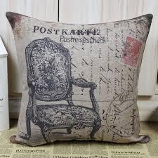 Armchair Cushion Covers Vintage Victorian Chair Cushion Cover