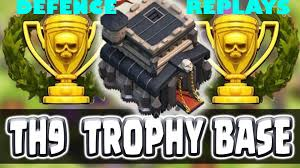 clash of clans best town hall 9 defence base 2016 th9 best