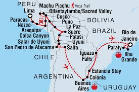Patagonia South America Map Chile Tours U0026 Travel Intrepid Travel Us