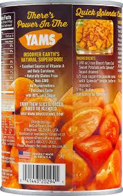 thanksgiving yams with marshmallows bruce u0027s yams cut sweet potatoes sweetened with splenda 40 0 oz