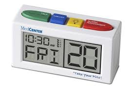amazon com medcenter talking alarm clock health u0026 personal care