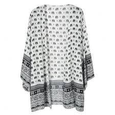 elephant blouse european style fashion summer three quarter sleeve elephant