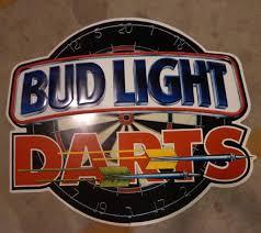 bud light tin signs bud light darts metal sign