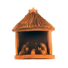 home interior nativity set coconut and clay nativity set mountain