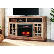 tv stand tv stand infrared electric fireplace in aged white