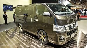 urvan nissan 2015 tokyo 2011 nissan nv350 caravan live photos autoevolution