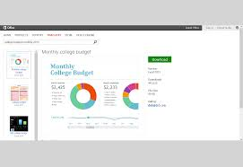 Template For Budgeting Money Get Organized With Budget Templates For Microsoft Office