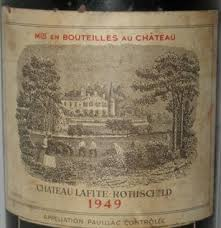 learn about chateau lafite rothschild 1949 château lafite rothschild bordeaux médoc pauillac