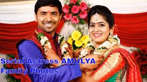 serial actress amulya reddy family photos anyone pinterest