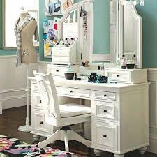 Oak Bedroom Vanity Desk Desk Bench Solid Wood White Vanity Table Set Jewelry
