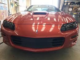 02 camaro headlights 98 02 camaro professionally tinted headlights taillights and