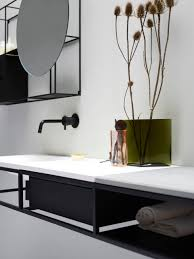 minimalist modern design make black a norm at home with norm architects nonagon style