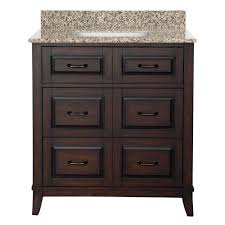 Bathroom Vanity With Drawers by Foremost Naples 31 In W X 22 In D Bath Vanity With Left Drawers