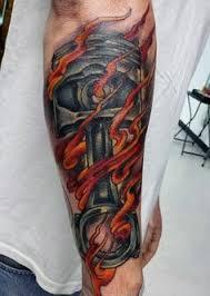 men u0027s piston combustion tattoo designs on legs tattoos