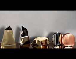 luxury designer italian vases nella vetrina