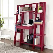 Desk And Bookshelf Combo Bookcase Ladder Shelves Ikea Ikea Bookcase Desk Hack Ikea