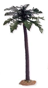 12 inch scale palm tree by fontanini fontaninistore