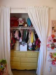 41 best curtains in closets images on pinterest closet doors