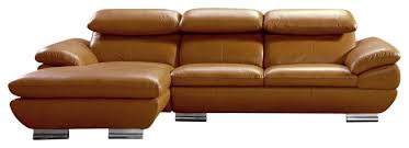 Camel Sectional Sofa 575 Full Camel Top Grain Italian Leather Sectional Sofa With