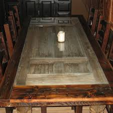 Handmade Reclaimed Barnwood Dining Room Table By Rusty Nail Design - Barnwood kitchen table