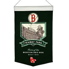 Boston Red Sox Home Decor by Red Sox Fenway Park Banner
