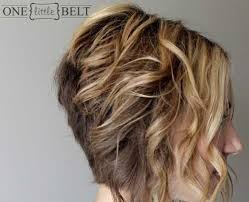 pictures of graduated long bobs graduated curly bob hairstyles side view via medium hair styles