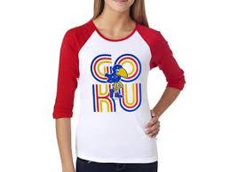 kansas jayhawks fan gear 105 best kansas jayhawk women s fan gear images on pinterest fan