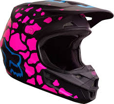 fox racing motocross 2017 fox racing womens v1 grav helmet motocross dirtbike offroad