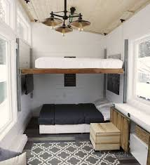 genius tiny house is full of diy transforming furniture curbed